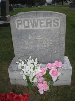 "Millicent ""Millie"" <I>Brittain</I> Powers"