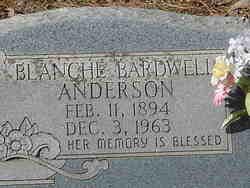 Blanche <I>Bardwell</I> Anderson