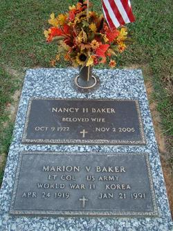 Nancy Lee <I>Hagood</I> Baker