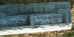 Esther Elizabeth <I>Carter</I> Ashby