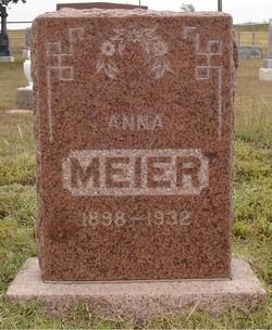 Anna <I>Kerbs</I> Meier
