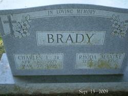 Charles E. Brady, Jr (1925-199...