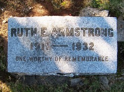 Ruth Evelyn <I>Wolfe</I> Armstrong