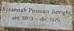 Susannah <I>Pittman</I> Jinright