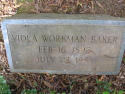 Viola <I>Workman</I> Baker