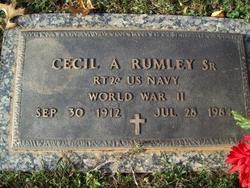 Cecil Andslem Rumley, Sr