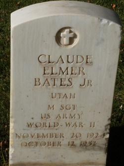 Sgt Claude Elmer Bates, Jr