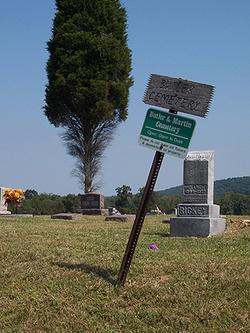 Butler and Martin Cemetery