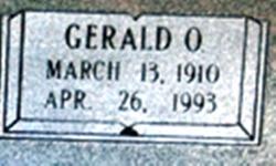 """Gerald O """"Gally"""" Mann"""