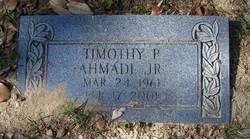 Timothy P. Ahmadi, Jr