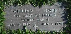 William P Hope