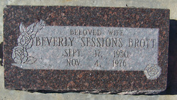Beverly Marie <I>Sessions</I> Brott