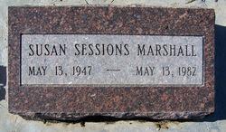 Susan Lee <I>Sessions</I> Marshall