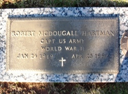 "Robert McDougall ""Bob"" Hartman"