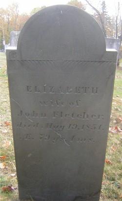 Elizabeth <I>Spaulding</I> Fletcher
