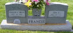 "Phillip E ""Bud"" Francis"