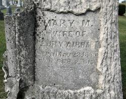 Mary Magdalena <I>Golladay</I> Airhart