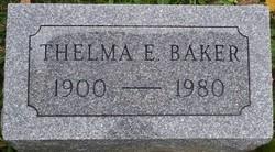 Thelma E. Baker
