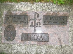 Esther Evelyn <I>Halland</I> Moa