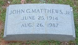 John Gideon Matthews, Jr