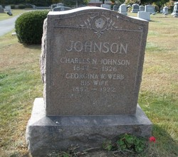 Georgina M. <I>Webb</I> Johnson