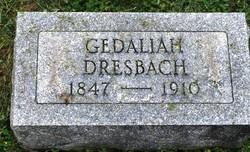 "Gedaliah ""Ged"" Dresbach"