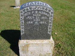 Rev Philip K. Hanna, Sr