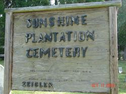 Sunshine Plantation Cemetery