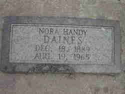 Nora Handy Daines