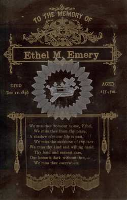 Ethel M. Emery