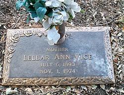 Lellar Ann <I>Sanders</I> Vice