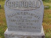 Caroline M. <I>Dimmick</I> Crandall