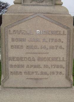 Lovell Bicknell