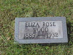 Eliza Julia Alice <I>Rose</I> Wood