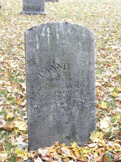 Fannie A. <I>Brown</I> Woods
