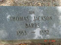 Thomas Jackson Barrs
