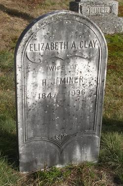 Elizabeth A. <I>Clay</I> Miner