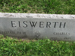 Elizabeth Mary <I>Casson</I> Eiswerth