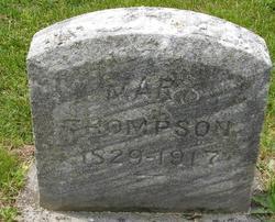 Mary <I>Karn</I> Thompson