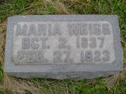 "Sophie Christiane Maria ""Maria"" <I>Lupenhop</I> Weiss"