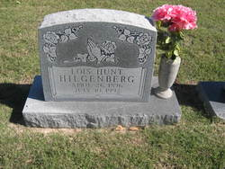 Lois <I>Hunt</I> Hilgenberg