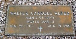 Walter Carroll Alred