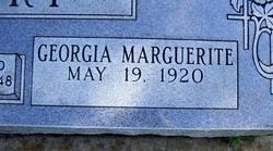 Georgia Marguerite Curry