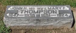 Mary F Thompson