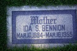 Ida Susannah <I>Stock</I> Bennion