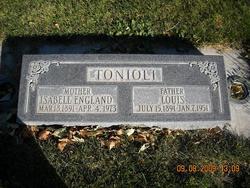 Mary Isabell <I>England</I> Tonioli