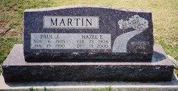 Hazel Edrie <I>Wall</I> Martin