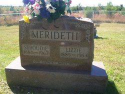 """Elizabeth """"Lizzie"""" <I>Saling</I> Merideth"""