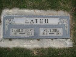 Ada Louisa <I>Hatch</I> Hammond