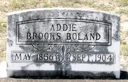 Addie Macon <I>Brooks</I> Boland